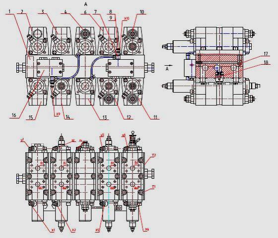 Гидрораспределитель ЕК-12